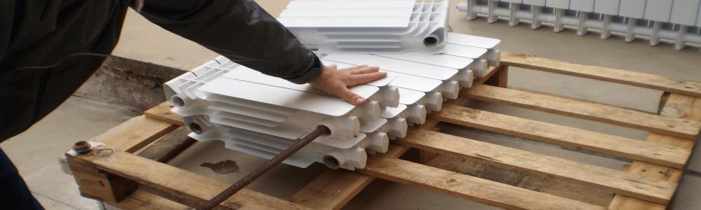 снаждане на алуминиев радиатор
